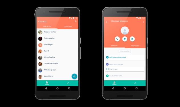 Novo CRM para Android da HubSpot